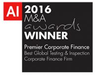 AI M&A award winner 2016